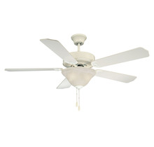 Savoy House 52-ECM-5RV-WH - First Value Ceiling Fan