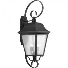 Progress P560013-031 - Kiawah Collection Three-Light Extra-Large Wall-Lantern