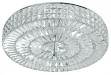 Crystorama 818-CH-CL-MWP - Crystorama Chelsea 6 Light Crystal Semi-Flush