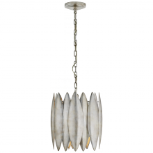 Visual Comfort S 5047BSL - Hatton Small Chandelier in Burnished Silver Leaf
