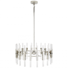 Visual Comfort S 5143PN-CA - Palomar Small Rotating Chandelier in Polished Ni