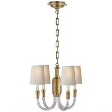 Visual Comfort TOB 5031HAB-NP - Vivian Mini Chandelier in Hand-Rubbed Antique Br