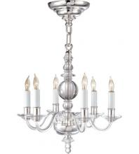Visual Comfort CHC 1156CG/PN - George II Mini Chandelier in Crystal with Polish