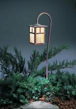 "Arroyo Craftsman LV27-M6TGW-P - low voltage 6"" mission fixture with t-bar overlay"