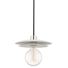 Mitzi by Hudson Valley Lighting H175701L-PN/WH - 1 Light Large Pendant