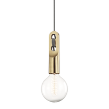 Mitzi by Hudson Valley Lighting H257701-AGB - 1 Light Large Pendant